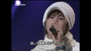2006年、ユンホの歌声です。ユノの歌声、大好きです。