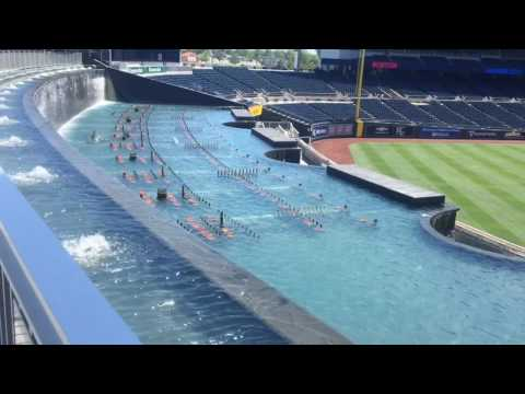 Kauffman Stadium's 322-foot wide water spectacular is one of the best features in any MLB ballpark (VIDEO)