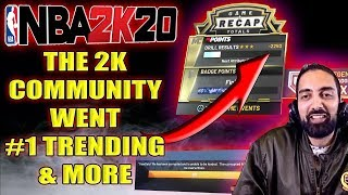 NBA 2K20 - #FIX2K20 went #1 TRENDING!! PETITION FOR RONNIE2K'S JOB & MORE