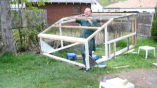 Portable Wooden Framework For A Diy Camper Shell For A 2001 F150
