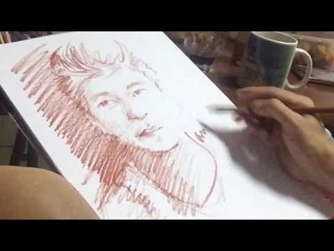 SKETCHES BY FAMOUS FILIPINO ARTIST IN DUBAI  (featuring Sir Tom Alvarado)