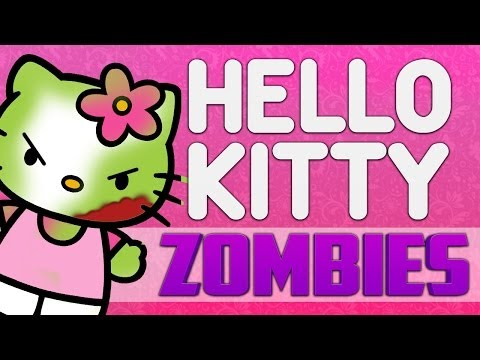HELLO KITTY ★ Call of Duty Zombies (Zombie Games)