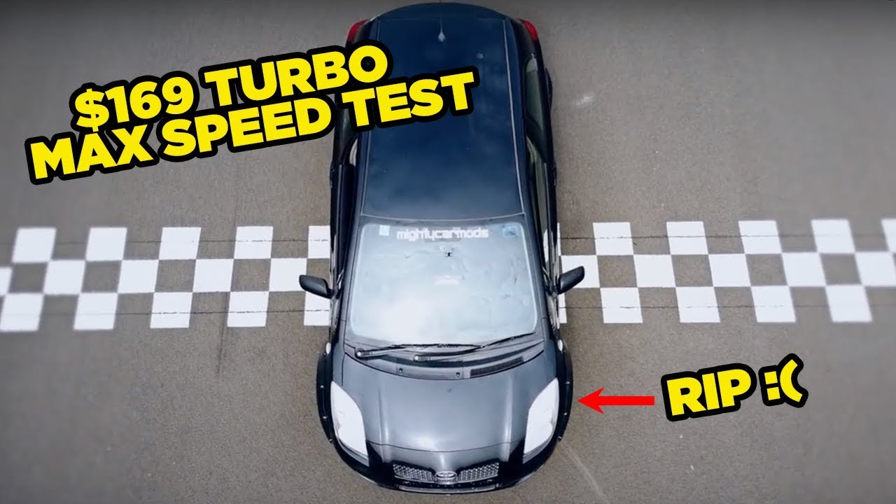 $169 eBay Turbo Yaris - MAX SPEED TEST (RIP)