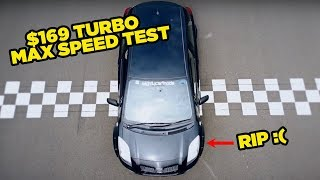 $169 eBay Turbo Yaris - MAX SPEED TEST (RIP)