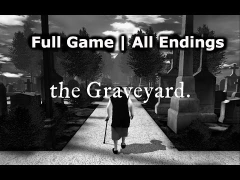 THE GRAVEYARD | FULL GAME | ALL ENDINGS (NO COMMENTARY)