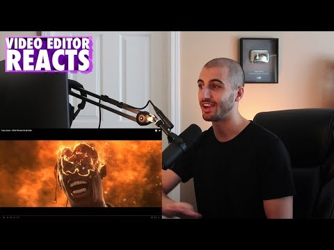 Video Editors Reaction to Travis Scott - STOP TRYING TO BE GOD (Music Video)