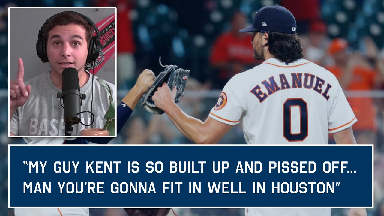 Astros Kent Emanuel is #0 because he says that's how many games he should've been suspended for