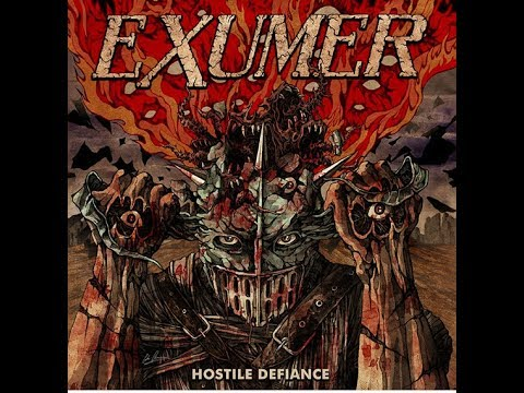 Exumer debut new song 'Hostile Defiance' off new album tracklist/art and Euro tour unveiled..!