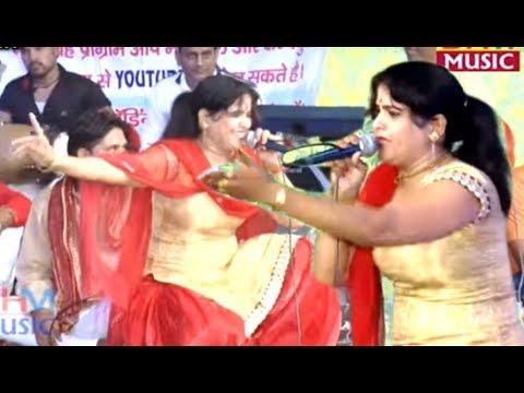 रेखा शर्मा के हरयाणवी ठुमके माँ के  दरबार में Rekha Sharma New Sabji mandi Dadri Jagran