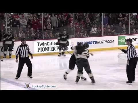 Shawn Thornton vs Matt Kassian Feb 19, 2012
