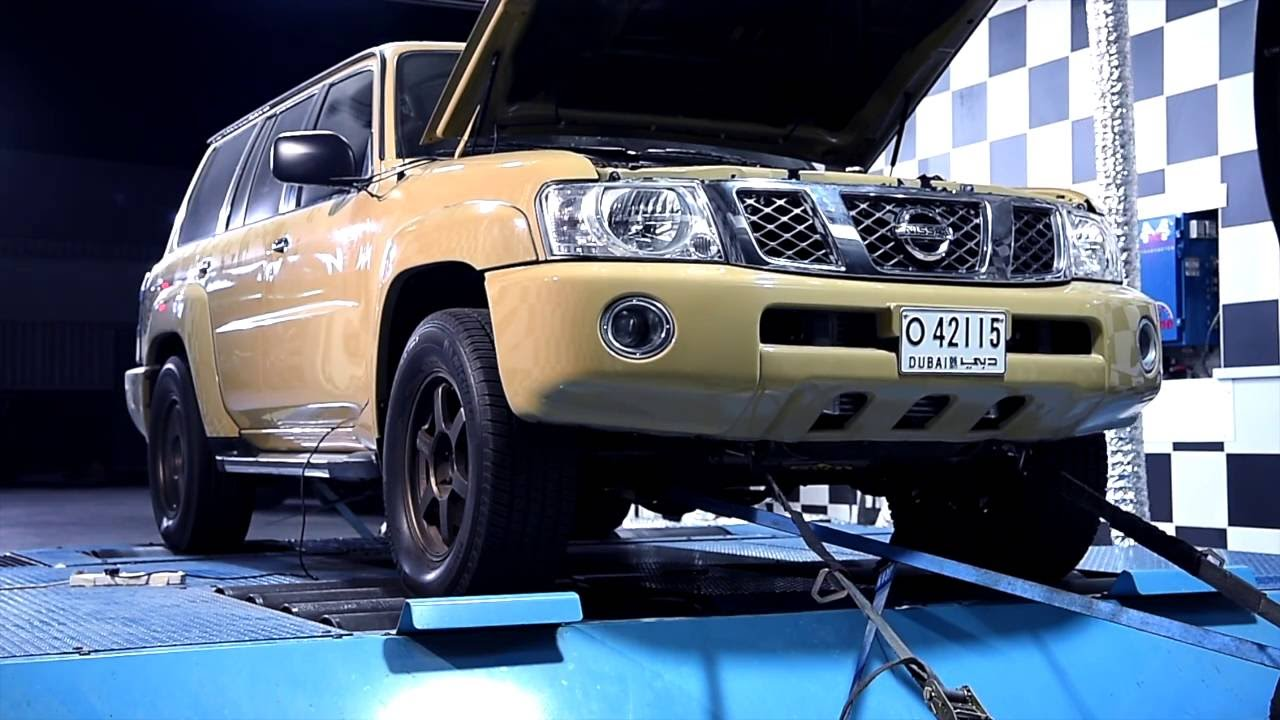 nas racing turbo kit and tuning for nissan patrol y61 4800 youtube. Black Bedroom Furniture Sets. Home Design Ideas