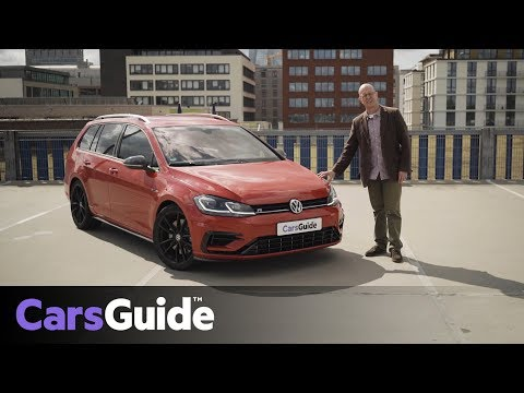 Volkswagen Golf R wagon 2018 review: first drive video