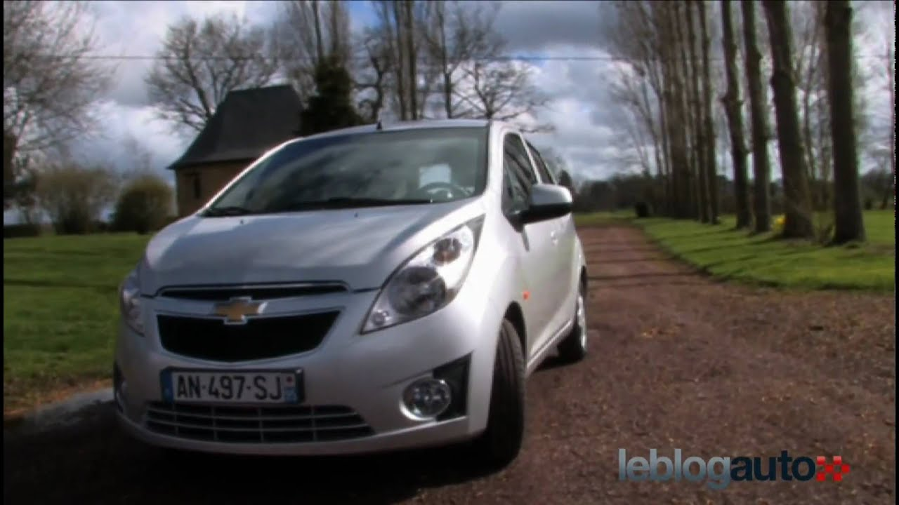 Essai Chevrolet Spark Gpli Test 2010 Youtube