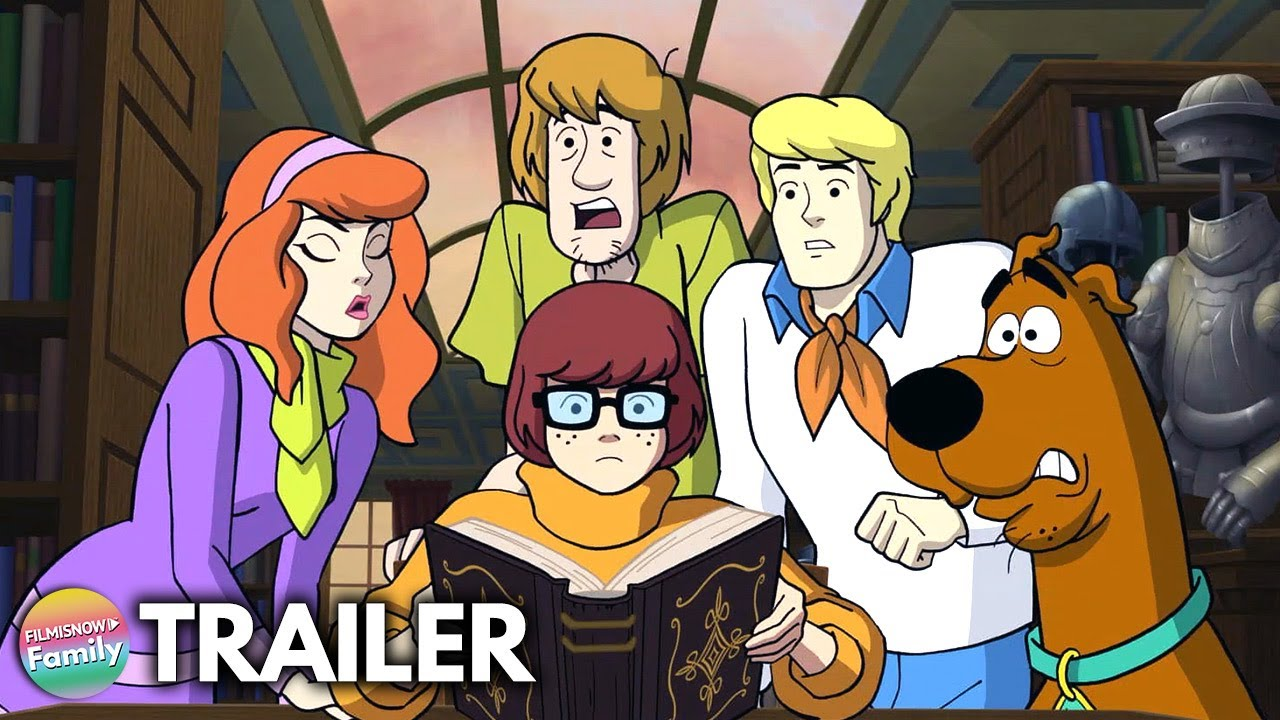 Download SCOOBY-DOO: THE SWORD AND THE SCOOB (2021) Trailer 🐾 | New Scoob-Doo Movie