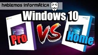 Windows 10 Pro Vs Home  ¿vale La Pena Una Licencia Profesional