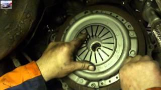 Замена сцепления Mercedes W124 Clutch Replacement