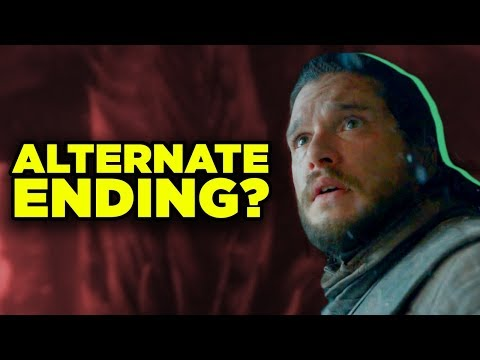 Game of Thrones Alternate Ending in Books? Jon Lady Stoneheart Theory!