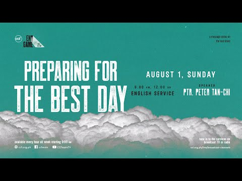 The Best Day Of Your Life   Peter Tan-Chi