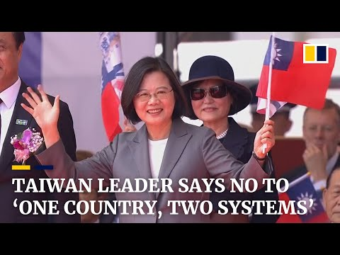 taiwan-president-rejects-'one-country,-two-systems'