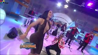 Paola Cristal Bailando La Bocina De Kinito Méndez en Sábado Extraordinario