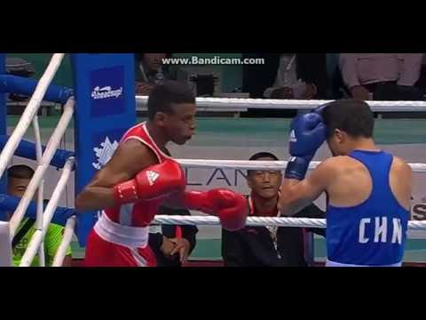 AIBA 2016 World    Boxing    OLYMPIC Qualification swededn   vs   china