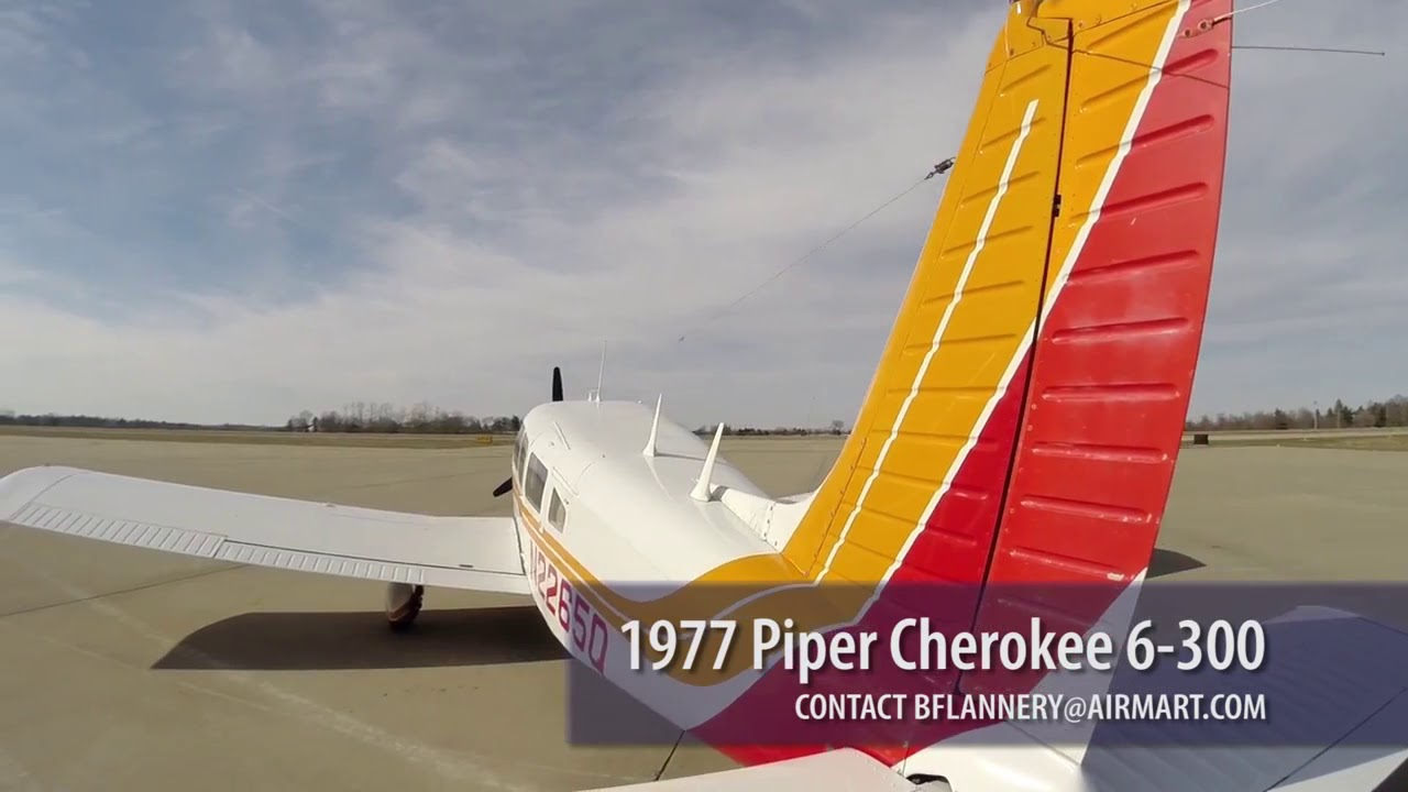 N2265Q  1977 Piper Cherokee 6 300 For Sale at Trade-A-Plane com