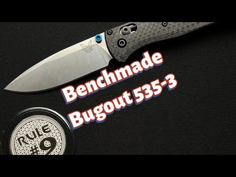 New Benchmade Bugout 535-3 Knife Review