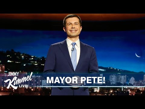 Mayor Pete Buttigieg's Guest Host Monologue On Jimmy Kimmel Live