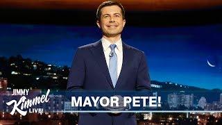 Mayor Pete Buttigieg's Guest Host Monologue on Jimmy Kimmel Live