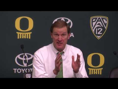 Dana Altman shares his thoughts on Mark Helfrich, Rob Mullens and the Oregon football program