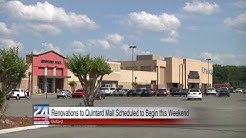 Renovations to Quintard Mall Scheduled to Begin This Weekend
