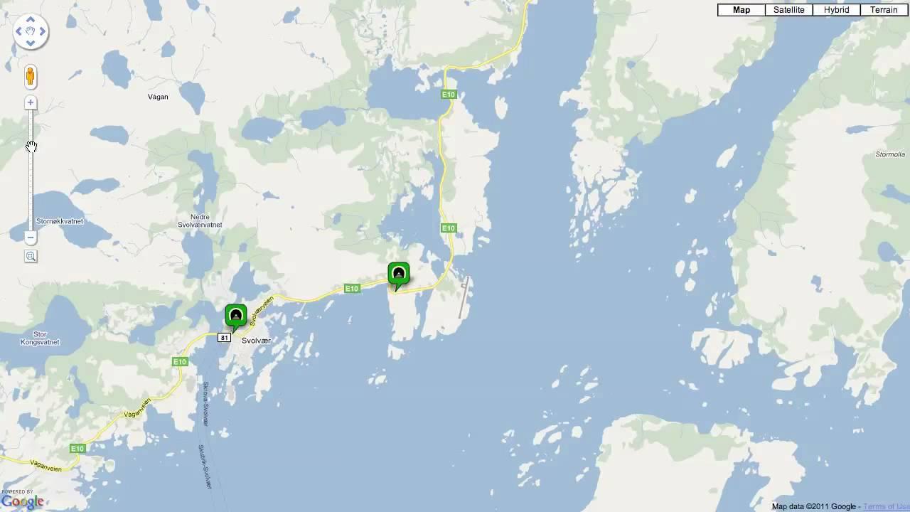 Map Of Norwegian Tunnels