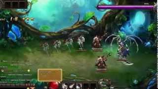 Dragon knight онлайн игра видео обзор игры