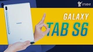 Mở hộp Samsung Galaxy Tab S6: Snapdragon 855, có S-pen