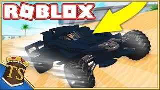 THE BATMOBILE IS THE BEST CAR IN THE GAME! -Car Crusher 2 | Danish Roblox