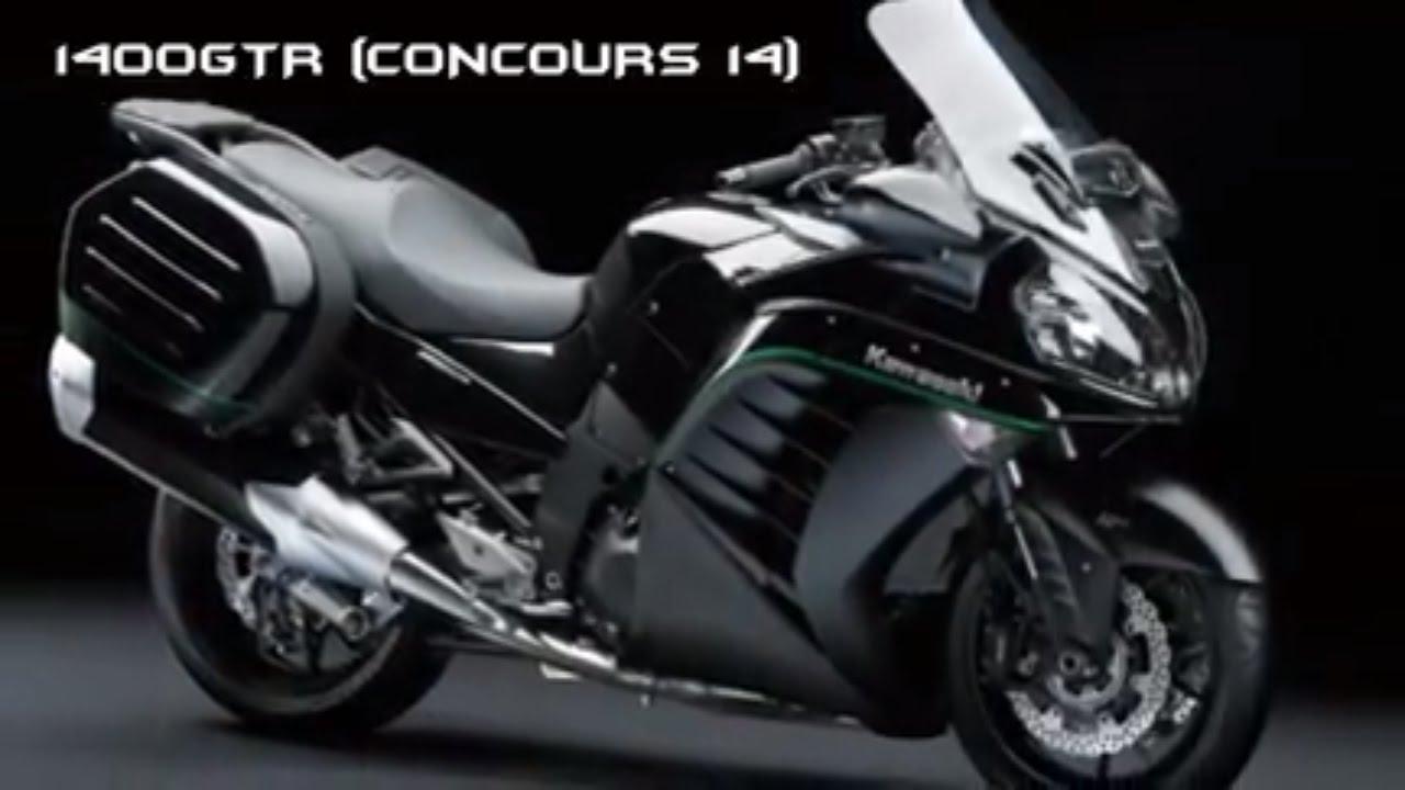 2017 kawasaki 1400gtr concours 14 motos style 2017 youtube. Black Bedroom Furniture Sets. Home Design Ideas