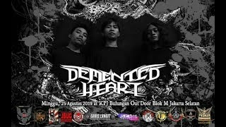 DEMENTED HEART Live at [ INDONESIA DEATH FEST#3 ] No: 19