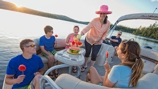 SUN TRACKER Boats: 2017 PARTY BARGE 22 XP3 Recreational Pontoon Boat