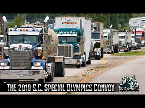 2019 South Carolina Special Olympics Convoy