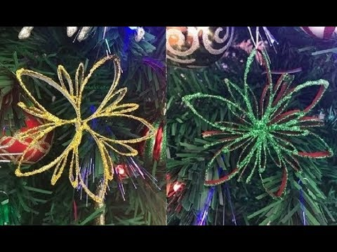 DIY: Christmas Ornaments made out of Toilet Paper Tubes