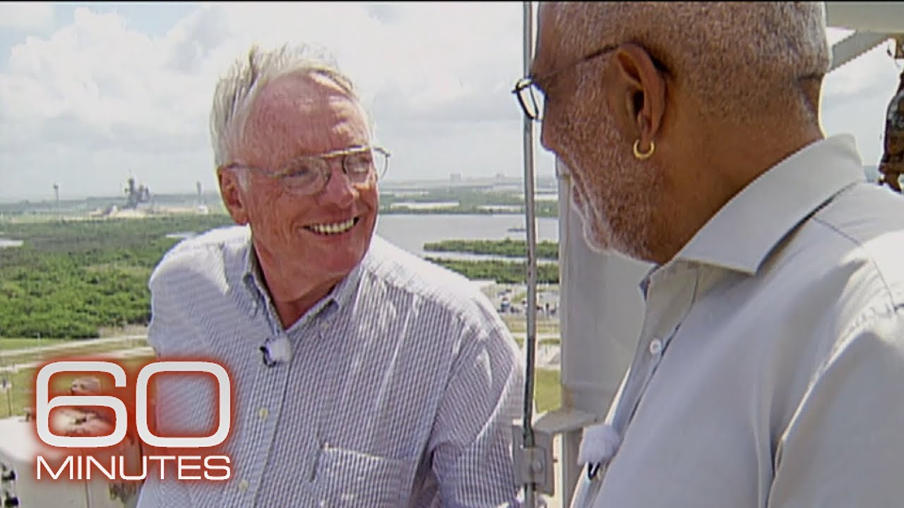 2005: Neil Armstrong on 60 Minutes