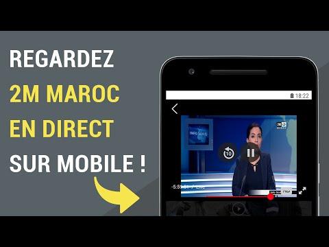 Comment regarder 2M Maroc en direct sur mobile ?