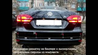 видео Установка парковочных радаров Sho Me и ParkMaster, установка парктроников