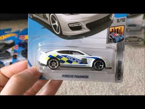 Hot Wheels Super cars Haul! (Porsche Panamera, McClaren, Lamborghini Aventador, Pagani Huayra)