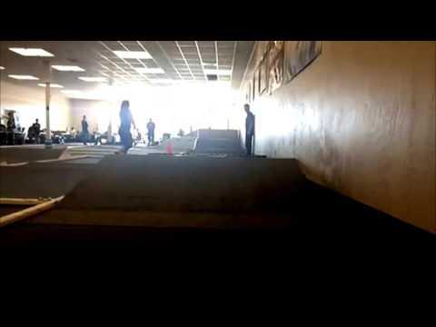Valley Hobby Shop's indoor carpet racing track