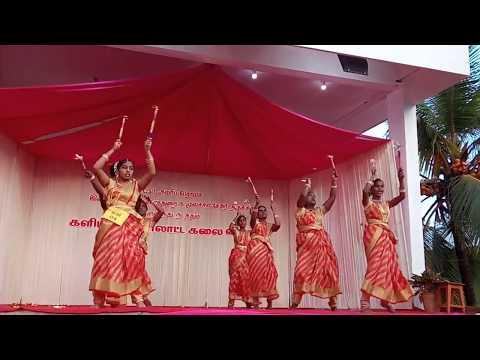 Ennil Vantha Naathanukku _ KollattamTamil christian songs performed by youth girls