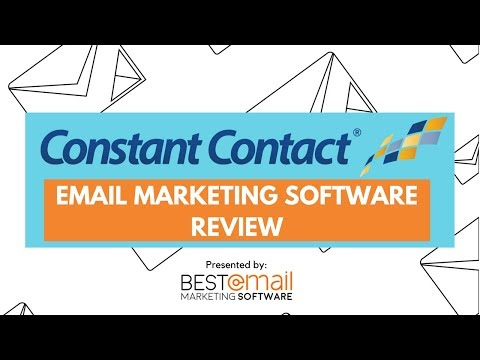 Constant Contact Review Tutorial - Updated 2018