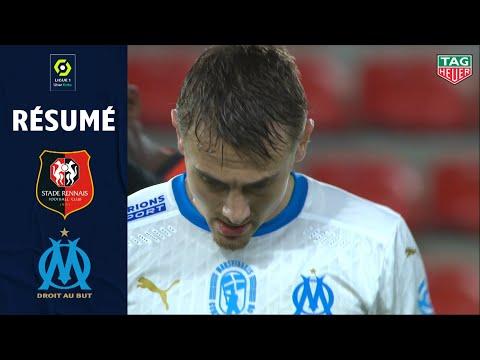 STADE RENNAIS FC - OLYMPIQUE DE MARSEILLE (2 - 1) - Résumé - (SRFC - OM) / 2020-2021