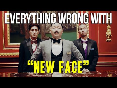 """Everything Wrong With Psy - """"New Face"""""""