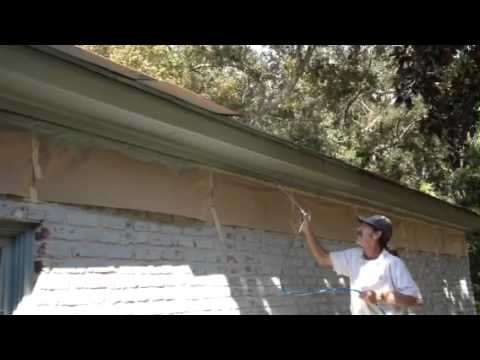 Painting House Fascia Amp Soffit Boards Youtube